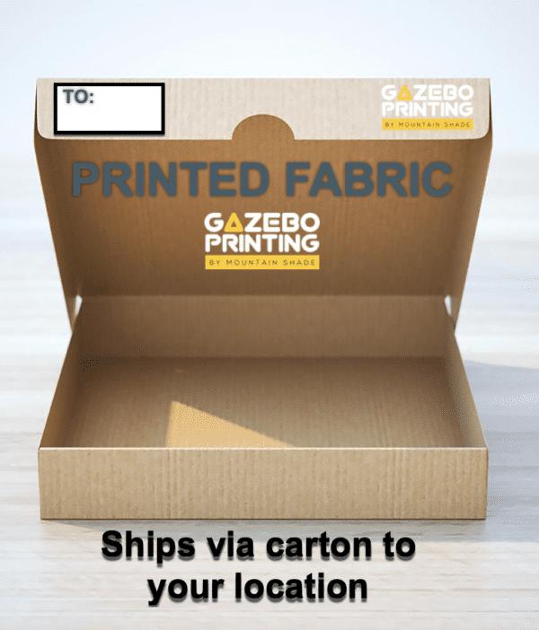 Gazebo printing Printed Fabric carton