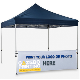 Printed Gazebo Walls