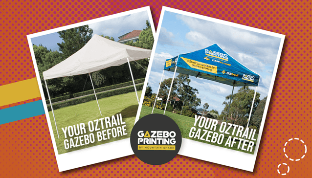 About us gazebo printing